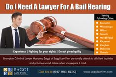 Bail Lawyer Brampton Service Help Protect Citizen's Right to Bail at https://saggilawfirm.com/other-services/ Get Assisted By Bail Lawyer Mississauga for Easy Release From Jail at https://saggilawfirm.com/location/ The Bail Bond industry was rooted and remains to be built on responsibility. Our Service:  How Long Does A Bail Hearing Take Attorney Bail Bonds Near Me Lawyer For Surety Bail Bond
