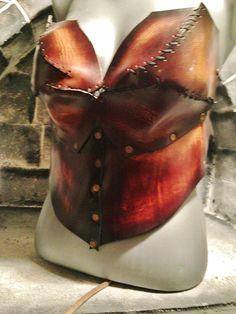 corset d armure médiévale en cuir de vache tannage végétal   Autres mode  par lutin 0dd6d858595