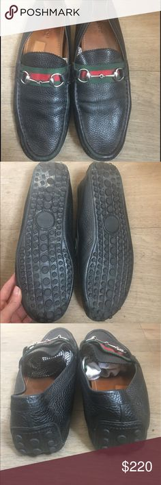 Gucci Authentic Black Men's Loafers Authentic, really great shape, soft black leather, great closet investment, matches pretty much everything. Gucci Shoes Loafers & Slip-Ons