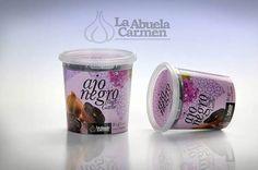 Black Garlic Spanish Umami Natural Fermented Cloves Peeled Free Shipping #LaAbuelaCarmen #gourmet #umami