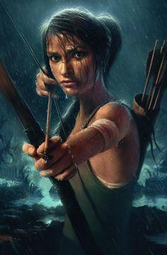 Lara Croft - Tomb Raider by mickehill.deviantart.com
