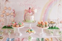 Lots of fairy parties and free printables
