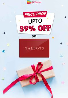 Buy Talbots discounted gift cards and save up to at Giftcardspread. Gift Card Deals, Buy Gift Cards, Postcard Wedding Invitation, Wedding Invitations, Discount Gift Cards, Price Drop, Talbots, Gift Wrapping, Gifts