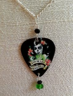 One of a Kind Day of the Dead Sugar Skull by NinaBellaDesigns, $16.00