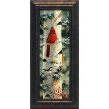 Feathered Friends I Framed Painting Print