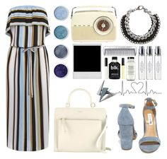 """""""Blue Crush"""" by aria-2000 ❤ liked on Polyvore featuring Oasis, Steve Madden, Alienina, Radley, Byredo, Butter London, Bobbi Brown Cosmetics, Terre Mère and Zarah Voigt"""