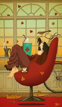 #DavidPintor #lifestyle #lounging #illustration #lindgrensmith