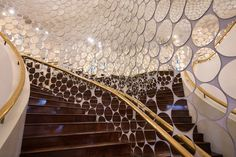 Image courtesy of Singapore Art Museum. Singapore Art Museum, Stair Art, Glass Mirrors, Information Overload, Installation Art, Contemporary Art, Stairs, Image, Home Decor