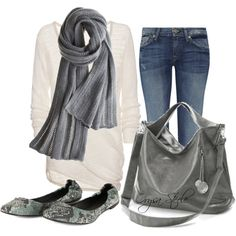 Off to Starbuck's, created by orysa on Polyvore