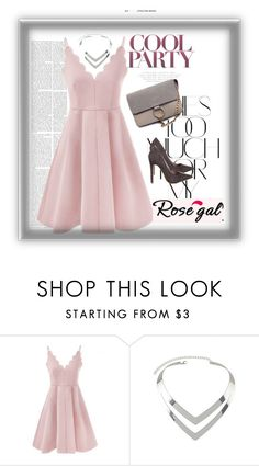 """""""Rosegal 5"""" by esma-osmanovic ❤ liked on Polyvore featuring Rika and Shoe Republic LA"""