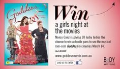 Win 1 of 20 Pairs Of Tickets To See Goddess Win Tickets, Lucky Ladies, Rock Concert, Girls Night, Musicals, Pairs, Girls Night In, Ladies Night, Musical Theatre
