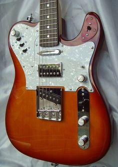 Fender Telecaster Custom Special Type built by Martin L Dean