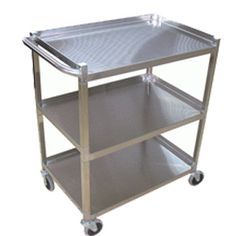 GSW 250 lb Capacity Stainless Steel Utility Cart - UTILITY CARTS - CARTS - KITCHEN Kitchen Carts, Utility Cart, Stainless Steel, Furniture, Home Decor, Decoration Home, Room Decor, Home Furnishings, Arredamento