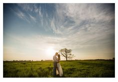 Spring farm sunset engagement photos by ZTS Photo Des Moines, Iowa photographers Tanner & Sarah Urich http://www.ztsblog.com