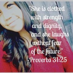 Leukemia Proverbs 31 25, She Is Clothed, Verses, Cancer, Healing, Stripes, T Shirts For Women, Quotes, Fashion