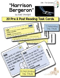lottery never and harrison bergeron close In kurt vonnegut s short story, harrison bergeron, the main character, harrison, is a great example of the hero archetype it is often that the hero archetypes are exceptionally kind, brave, intelligent, attractive, and leaders he lived in a world where nobody was smarter than anybody else.