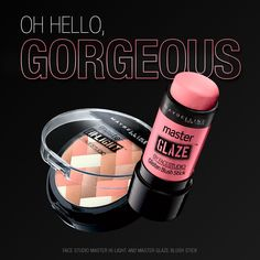 Get cheeky with new Master Glaze and Master Hi-Light.