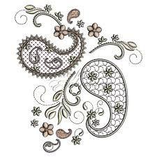 Resultado de imagen para paisley embroidery designs