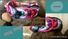 Las Manualidades de Roshalyss: pulsera atrevida-muy mujer