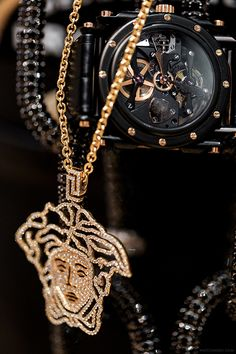luxury, Versace, and watch image