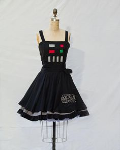 I found 'Darth Vader Star Wars Retro Style Dress' on Wish, check it out!
