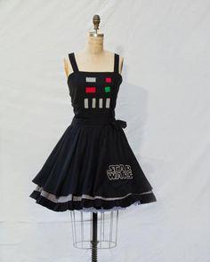 Darth Vader Retro Style Dress - omg!