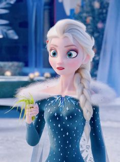Queen Elsa in the new Frozen short to be released later this year - Olaf and Sven go in search of holiday traditions for Elsa and Anna Frozen Disney, Disney Pixar, Dvd Disney, Frozen Movie, Olaf Frozen, Disney And Dreamworks, Disney Magic, Disney Art, Disney Movies