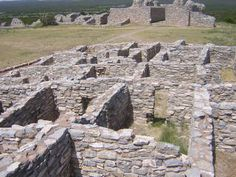 Grand Quivira - One of the Salinas Pueblo Missions National Monument - New Mexico