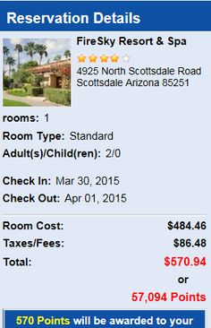 Fire Sky Resort Scottsdale Arizona compared against Kayack,Travelocity,Expedia, Priceline and we have the best prices! http://www.coach4travel.com