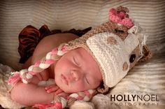 Crochet Horse Hat Newborn photo prop by MRocheCrochet on Etsy, $21.00