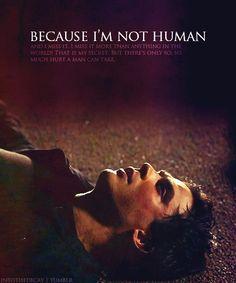 Because I'm not human