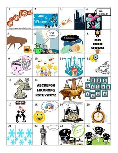 Updated version - thanks for encouraging me to look for it, Tiffany! Christmas Quiz, Christmas Puzzle, Christmas Games, Christmas Activities, Christmas Goodies, Christmas Carol, Christmas Printables, Family Christmas, Christmas Traditions