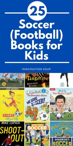 Good Soccer Books for Kids (Also Called Football Worldwide) Ages 0 to 12 Writing Lesson Plans, Writing Lessons, Writing Activities, Writing Ideas, Basketball Books, Kids Soccer, Play Soccer, Fiction Books For Kids, Books For Boys
