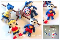 Baby Crib Mobile - Baby Mobile - Super hero Mobile - You can choose other  Heroes too via Etsy