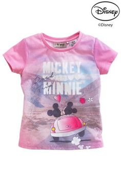 Buy Disney Mickey And Minnie T-Shirt (3mths-6yrs) from the Next UK online shop