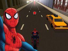 Jeu Spider-Moto ultime