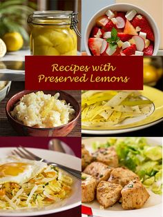 A host of recipes that use preserved lemons @MJs Kitchen #preserved lemons mjskitchen.com