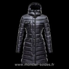 bc390c0aa10a Moncler Doudoune Hermine Femme Noir Mens Jackets Uk, Jackets For Women,  Hats For Sale