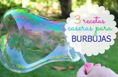 3 recetas para hacer BURBUJAS en casa | Blog de BabyCenter