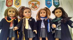 Hermione Uniform for American Girl doll by JessiesGirlClothing