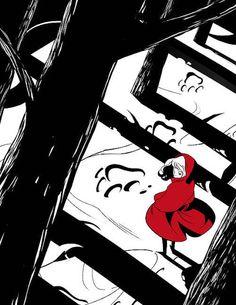 Pinzellades al món: Pel bosc dels contes va la Caputxeta / Por el bosque de los cuentos pasea Caperucita / By forest of the tales walk Riding Hood (32)