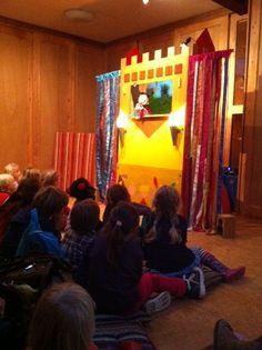 3 oktober 2012: Opening kinderboekenweek met theatervoorstelling Ridder Ratjetoe en de Drakameel door Stefan Wolters