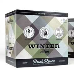 Rush River - love all of their packaging