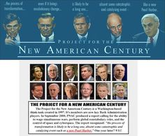 The PNAC neocons got their new Pearl Harbor with 3000 American deaths on…