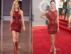 Jamie Chung In Versace - 2014 MTV Video Music Awards #VMA - Red Carpet Fashion Awards