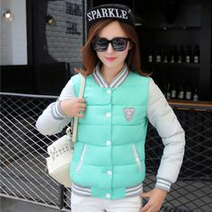 2015 New winter jacket women Korea fashion uniform warm jackets winter coat women down female parkas Women's winter jacket-in Down & Parkas from Women's Clothing & Accessories on Aliexpress.com US $52
