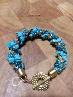 Kumihimo Le Blue Bracelet