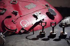 В гараже собрали уникальную машину Голдберга (+ВИДЕО)