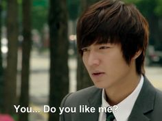 Yes, Lee Min Ho (in City Hunter), I do like you, lol!