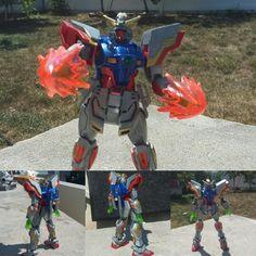 Shining Burning Gundam Custom HGBF and HGFC